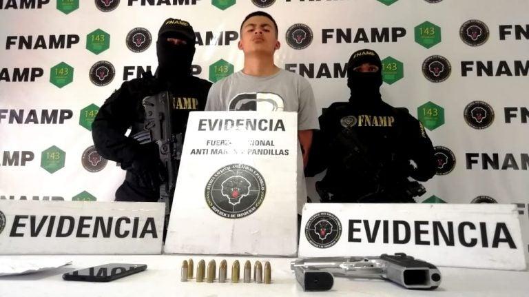 FNAMP captura a supuesto pandillero que había salido de La Tolva