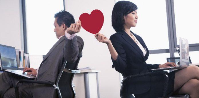 amor en el trabajo