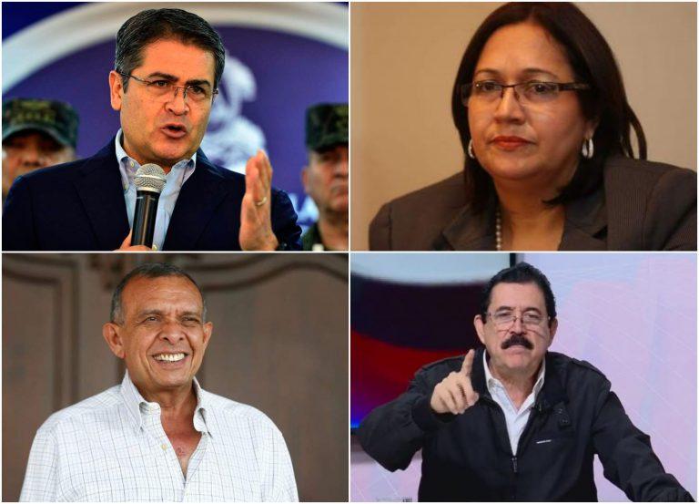 FRASES DE LA SEMANA: ¿Qué dijo JOH, Roxana Araujo, Mel Zelaya y Pepe Lobo?