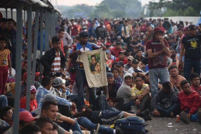 17 mil hondureños