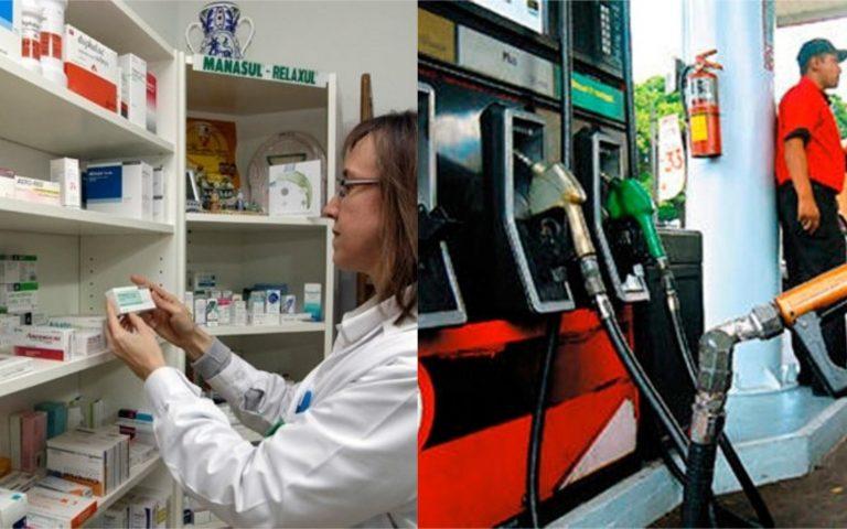 Comité de Excepciones: Conozca los horarios de atención de farmacias y gasolineras