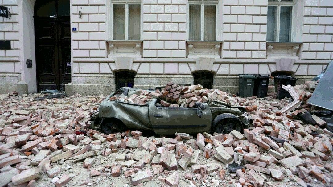 Sismos Y Covid 19 En Zagreb Capital De Croacia Heridos Y Danos