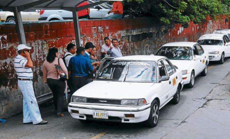 Taxistas recibirán ayuda alimenticia al apuntarse en listados del IHTT