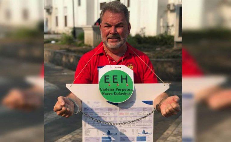 Roberto Contreras iniciará huelga de hambre «por abusos de EEH y Gobierno»