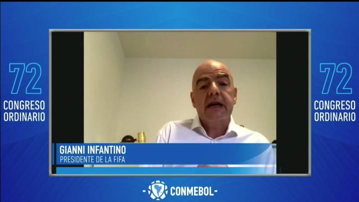 Gianni Infantino: «Ningún partido vale la vida humana»
