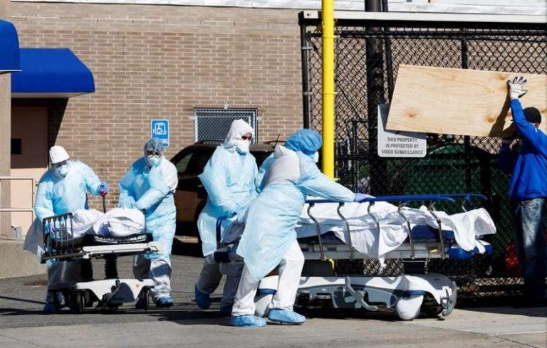 New York: 783 nuevas muertes en 24 horas