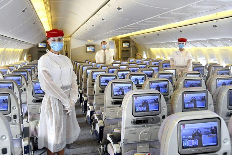 Covid-19: Emirates, primera aerolínea que realiza test a sus pasajeros
