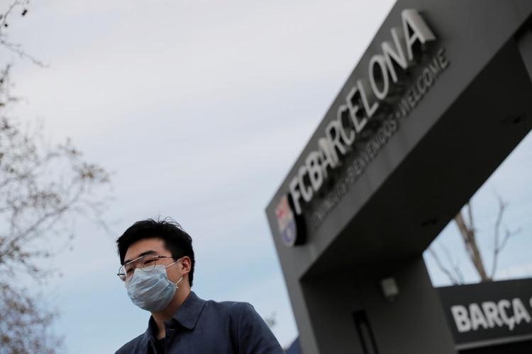 Tercer caso de Coronavirus dentro del FC Barcelona