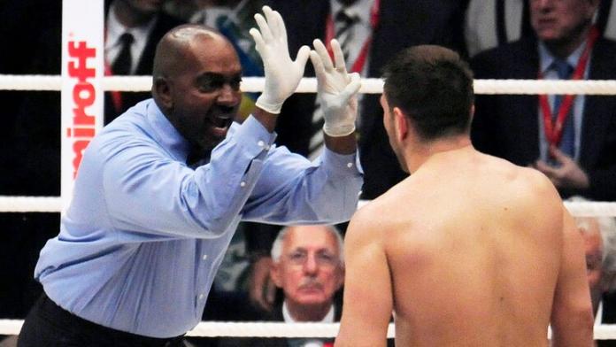 Boxeo árbitro Coronavirus