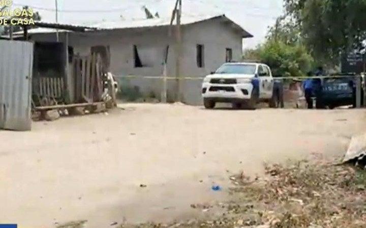 Lo matan cuando regresaba de enterrar a padre e hijo en La Lima