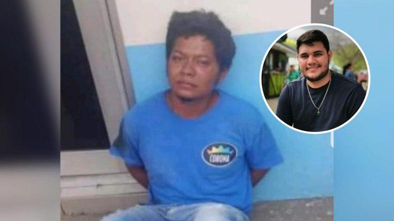 A Támara envían a sospechoso de matar a joven emprendedor en SPS
