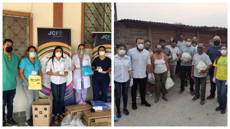 JCI San Pedro Sula se proyecta con la iniciativa «Héroes con bata»
