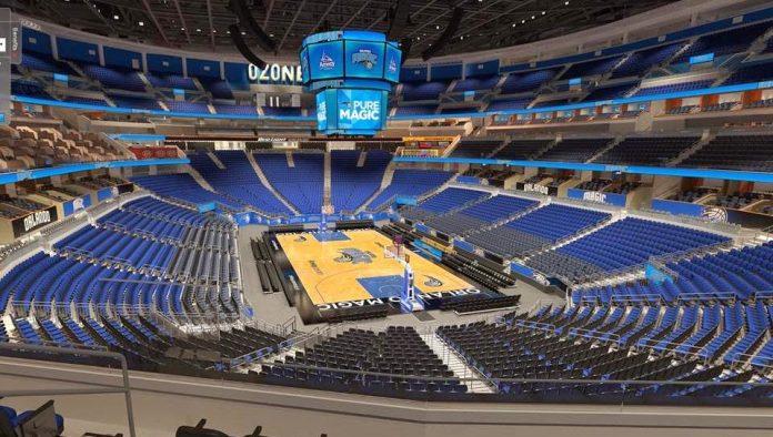 Estadio de los Orlando Magic será centro de distribución en equipo médico