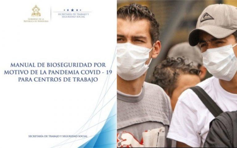 COVID-19: Gobierno presenta manual de bioseguridad para empresas
