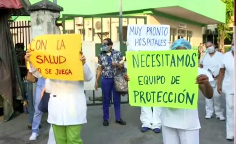 Asociación Nacional de Enfermeras, luchan contra el COVID-19 y sin ver salario