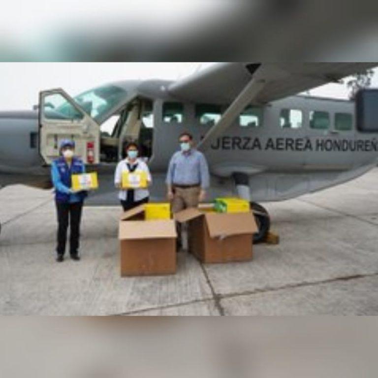 COVID-19: kits de extracción que donó EEUU llegan a Honduras