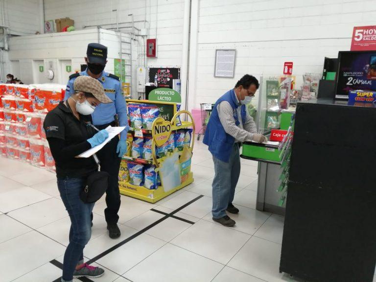 TGU: Sancionan negocios por subir precios a productos de la canasta básica