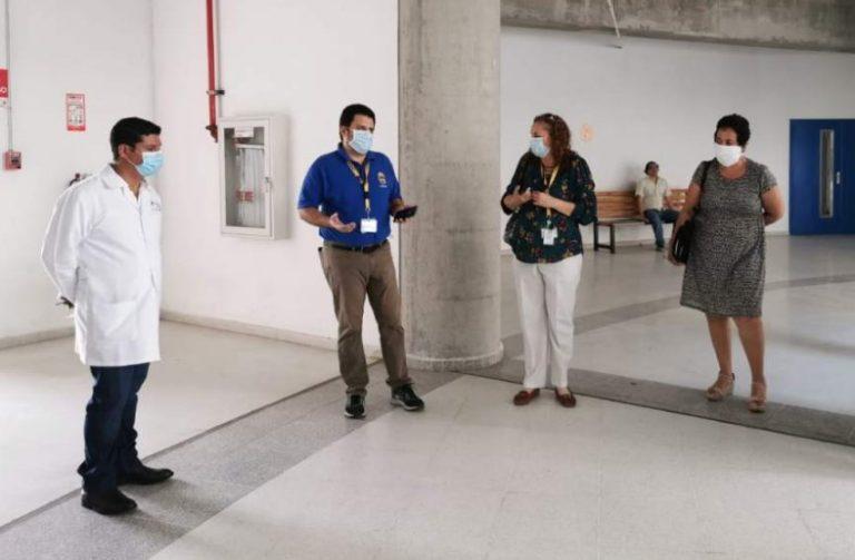 Secretaría de Salud instala un comando covid-19 en la UNAH-VS