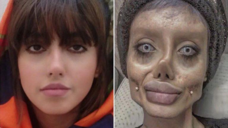 "La Angelina Jolie ""zombie"" tiene coronavirus: se contagió en la cárcel"