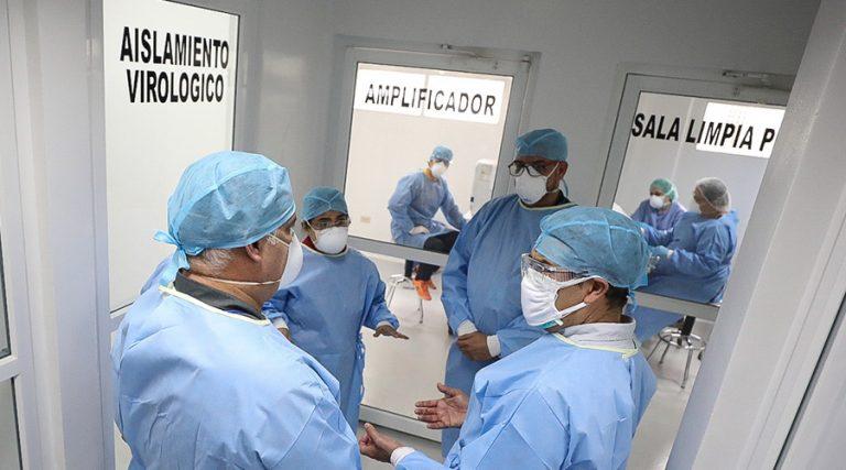 Ya hacen pruebas en el Laboratorio Nacional de Virología en San Pedro Sula