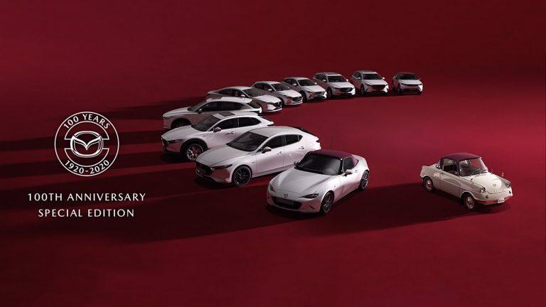 """Mazda """"100 Years"""": la marca celebra su centenario sacando ediciones especiales"""