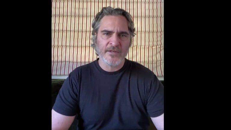 New York: Juaquin Phoenix pide liberar presos por Covid-19