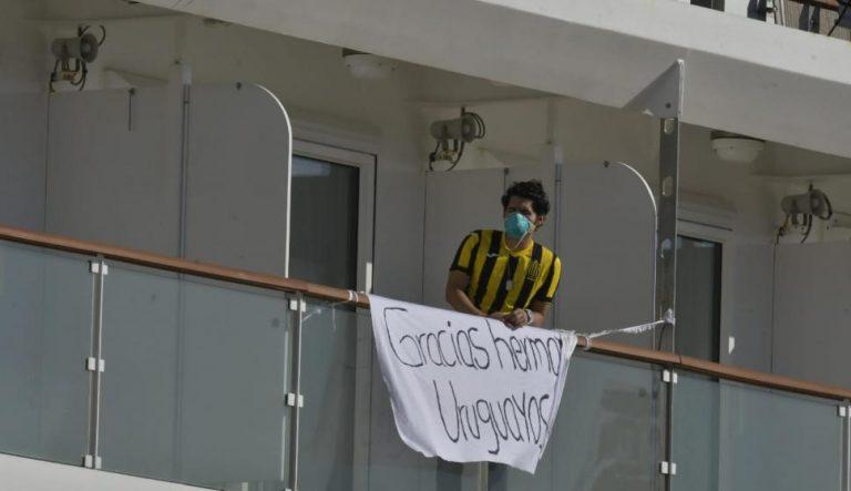 Termina la «pesadilla»: evacuan a hondureños con Covid-19 atrapados en crucero