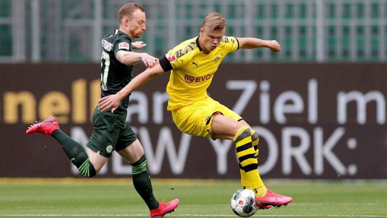 Dortmund registra su segunda victoria derrotando al Wolfsburgo
