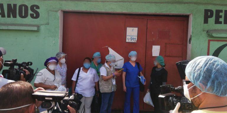 Llegan a hacer más pruebas al asilo Perpetuo Socorro de SPS