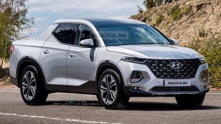 Nuevas recreaciones: ¿podría ser así la primera Pick-up de Hyundai?