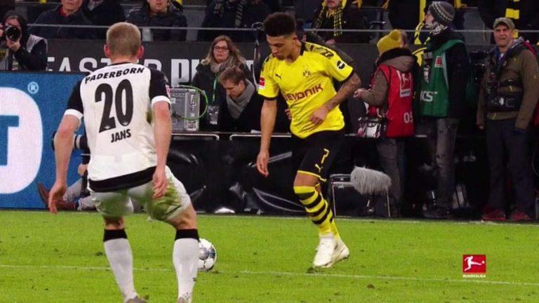 Festín de goles del Borussia Dortmund ante el Paderborn