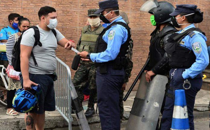 Confirman que hay dos policías infectados de Covid-19 en SPS