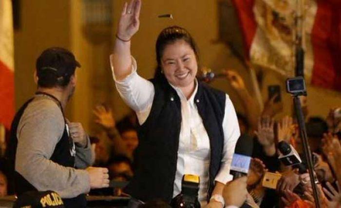 Perú: Keiko Fujimori sale del Penal de Chorrillos