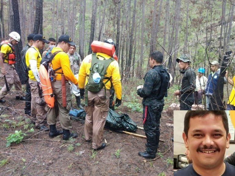 Encuentran cadáver de operario de máquina que cayó en un río de Siguatepeque