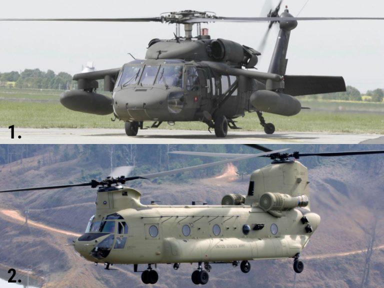 VÍDEO: Cuatro helicópteros BlackHawk UH-60 y tres Boeing CH-47, vuelan sobre TGU