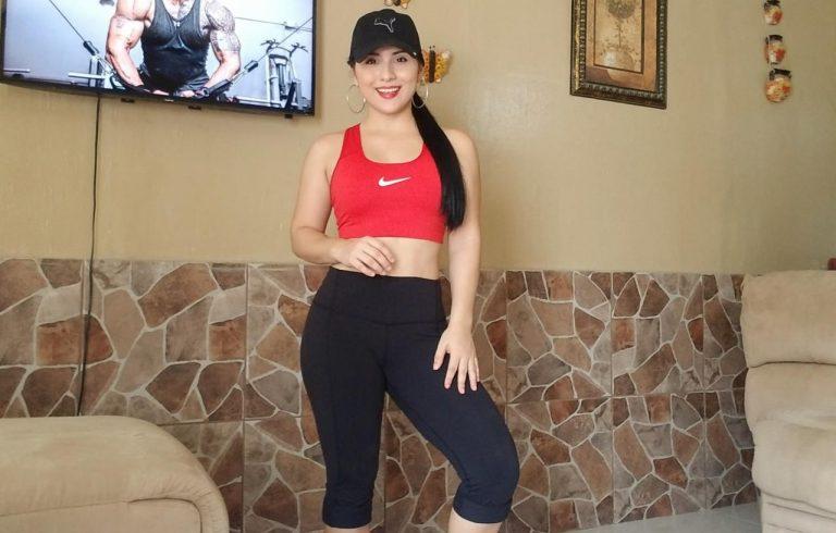 ¿Ejercicio en casa? Bridgith Paz te muestra rutina para espalda y tríceps