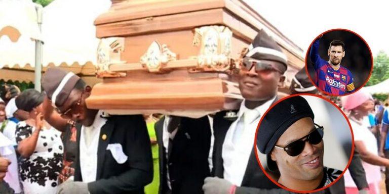 """Los africanos del meme del ataúd revelan a quien llevarían a """"su último hogar"""""""
