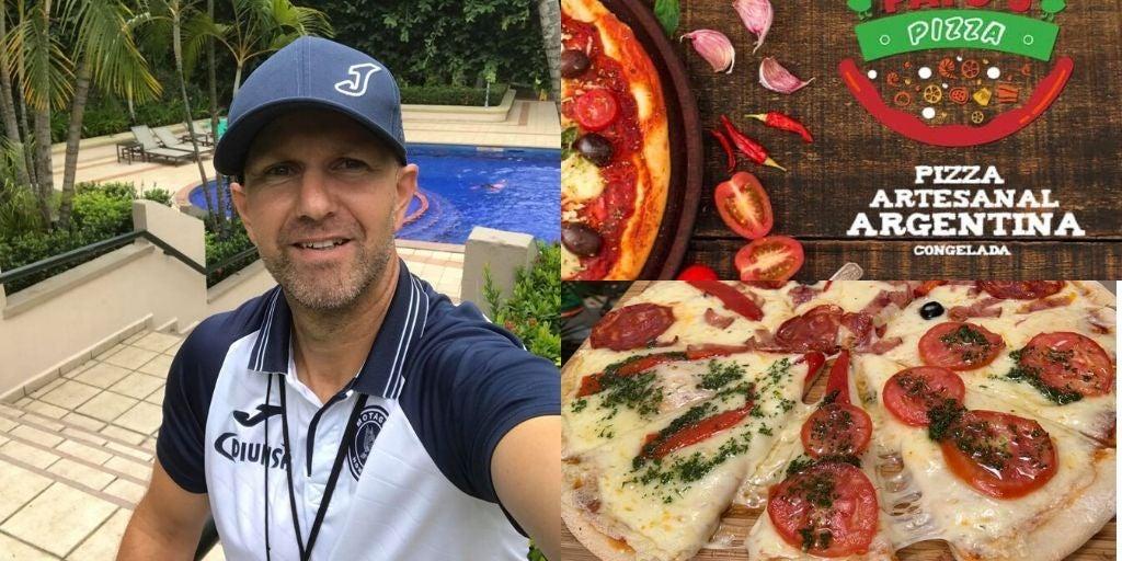 Patricio Negreira pone a la venta pizzas en crisis de Covid-19