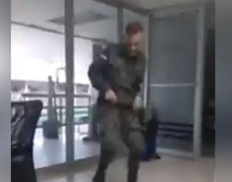"""""""Tenía tres meses de estar encerrado, estaba estresado"""": militar """"tiktokero"""""""