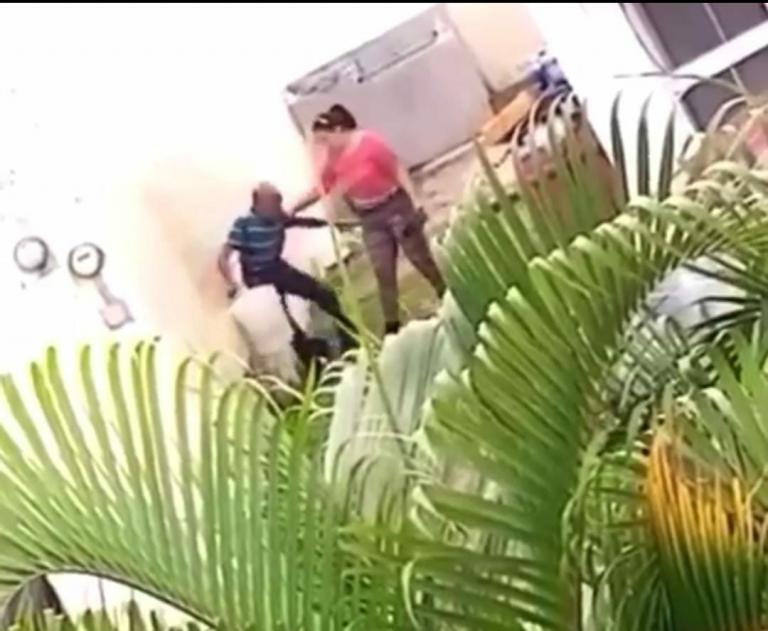 VÍDEO: MP identifica a la mujer que habría maltratado a su suegro