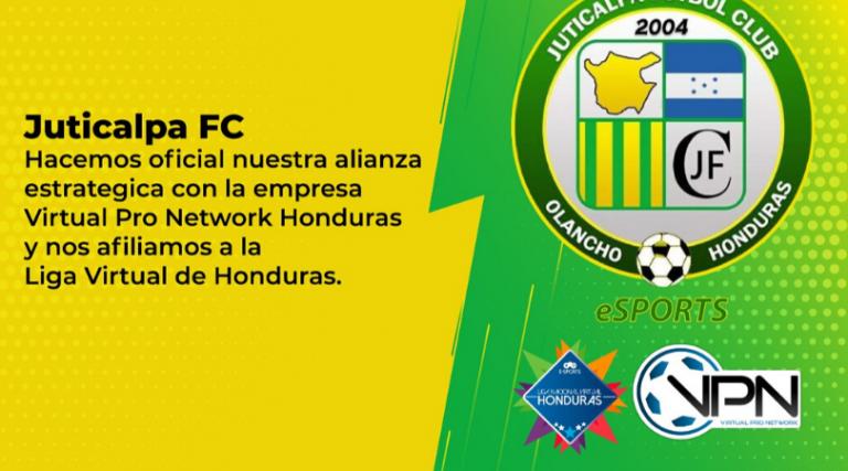 El Juticalpa FC de Olancho se une a la Liga Virtual