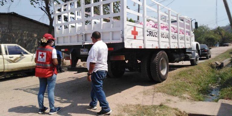 Tres voluntarios de la Cruz Roja Hondureña se recuperan de covid-19