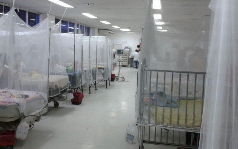 Reportan el ingreso de 18 niños afectados por dengue al HE