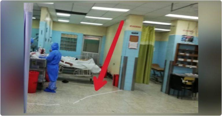HE: Sala COVID-19 y Sala de Emergencias, ¿divididas con línea de esparadrapos?