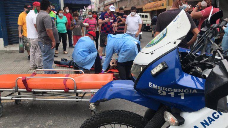 SPS: un joven queda gravemente herido tras accidentarse en motocicleta