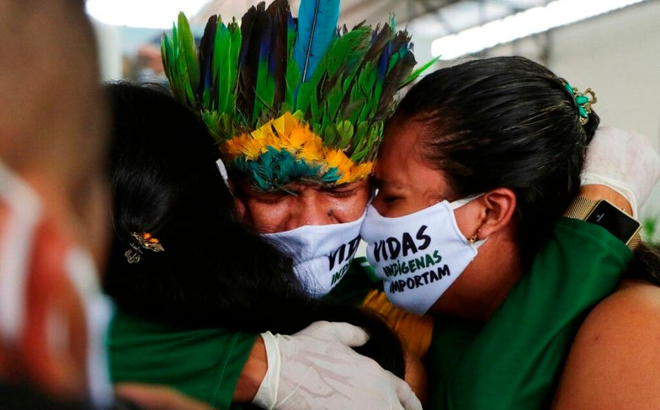 El Amazonas está sufriendo; 450 contagiados de coronavirus por cada cien mil habitantes.