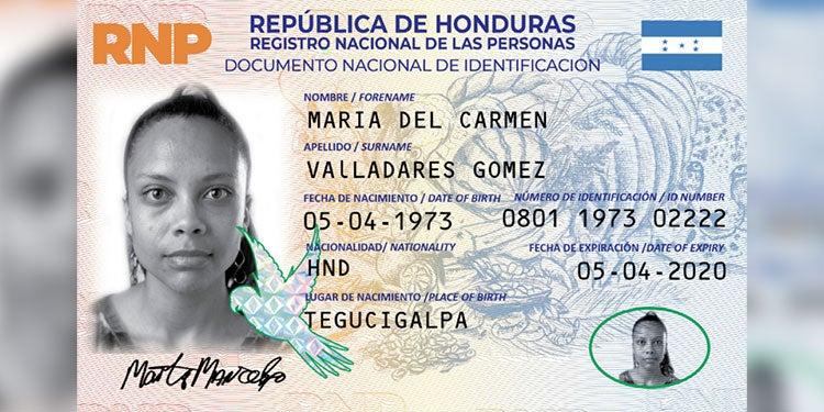 Nueva tarjeta de identidad tendrá tintas especiales para evitar falsificación