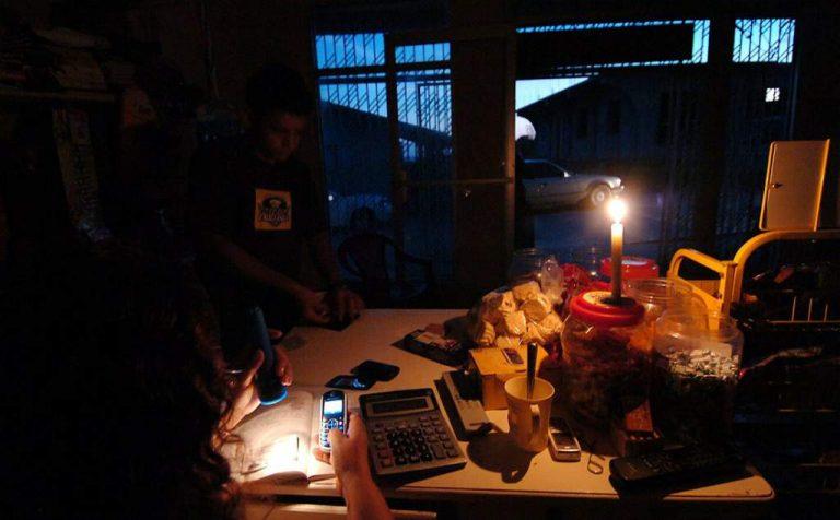 Apagón en toda Honduras: más de una hora sin energía eléctrica
