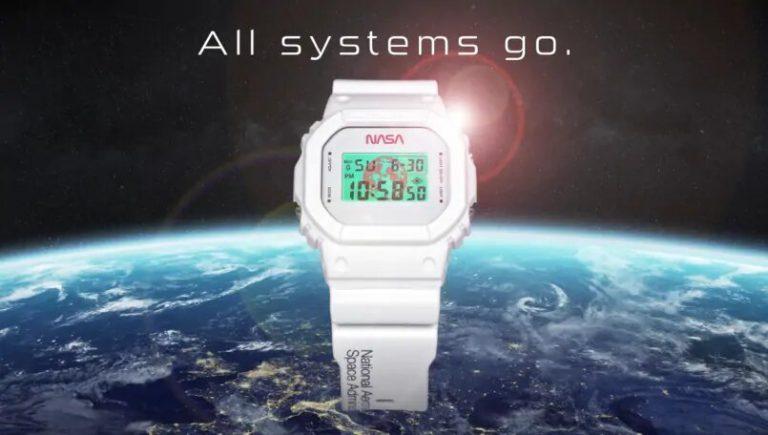 ¿Amante del espacio? Casio lanza reloj inspirado en misiones de la NASA