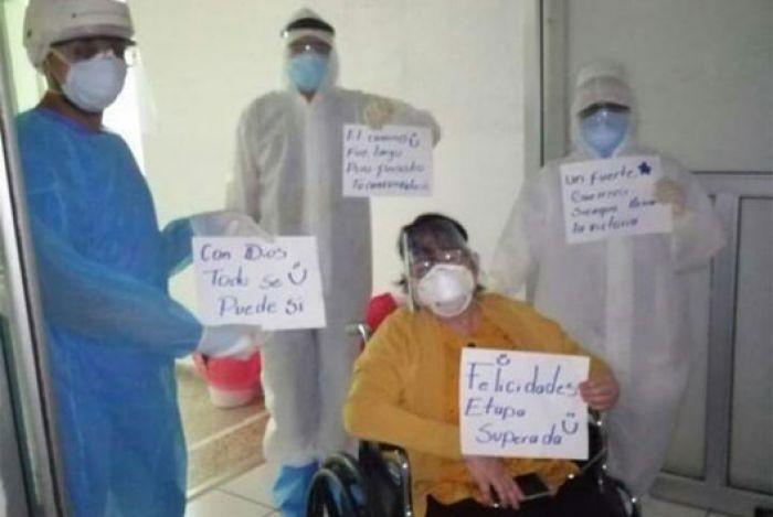 Elsa Palou vence la COVID-19 y se compromete apoyar a sus pacientes